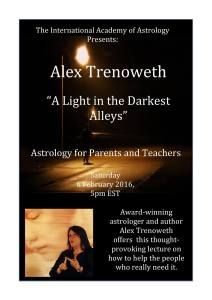 """A Light in the Darkest Alley"" Alex Trenoweth"