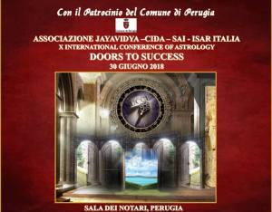 Alex Trenoweth at the ISAR-affiliated astrology school in Italy, Associazione Jayavidya