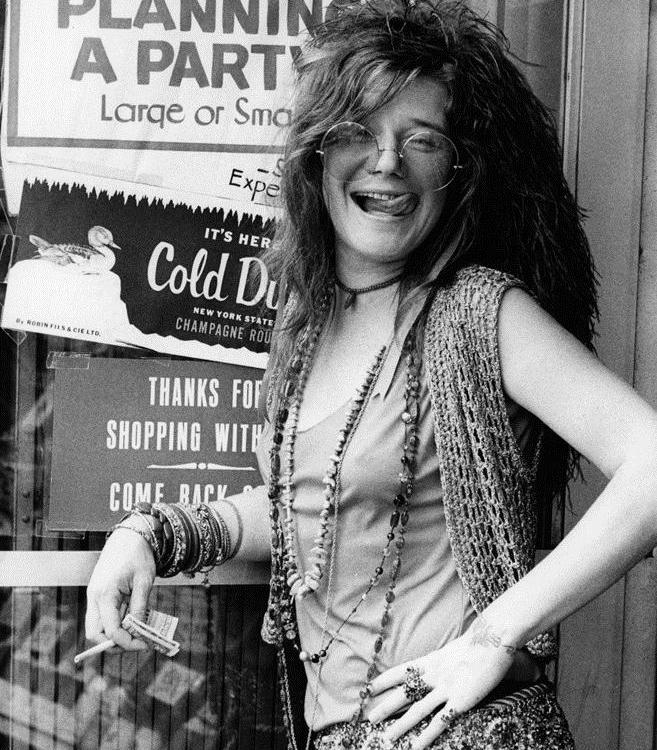 "Janis Joplin, ""Trading Her Tomorrows"""