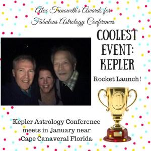 Alex Trenoweth Astrology Conference Award