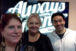 Alex Trenoweth, Julija Simas and Nick Polimenakos at NORWAC