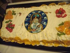 The cake in Perugia
