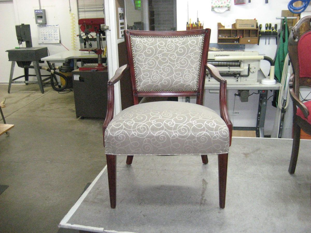 Round Ottoman Chair