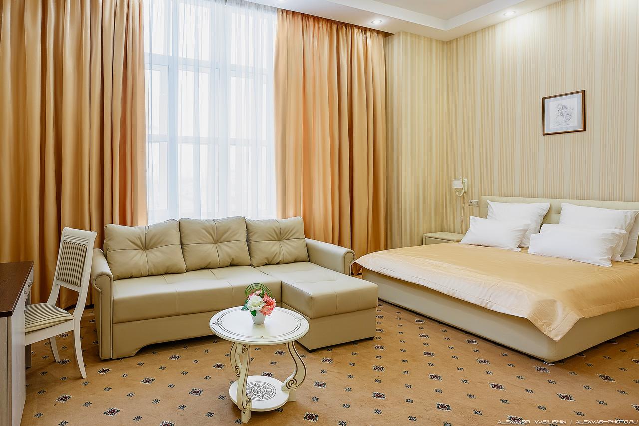 Интерьерная фотосъемка в отеле