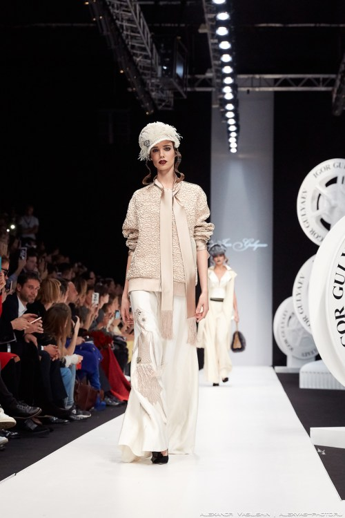 Igor Gulyaev НЕМОЕ КИНО spring/summer 2018 mercedes benz fashion week 2017