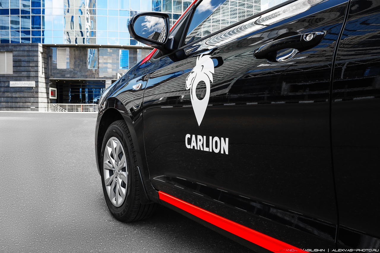 Каршеринг Carsharing Carlion