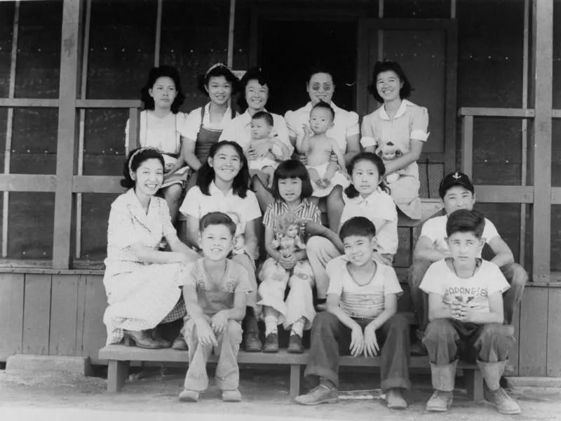 Internment of Japanese Americans - Manzanar Children's Village