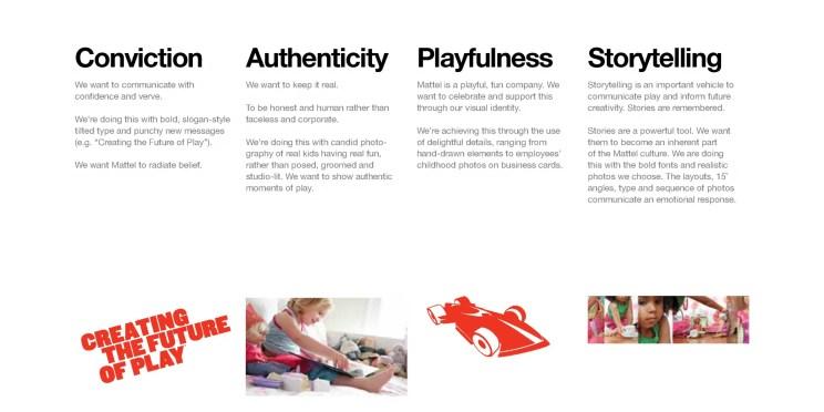 Mattel Brand Identity