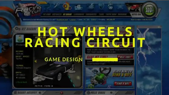 Hot Wheels Racing Circuit Game Design