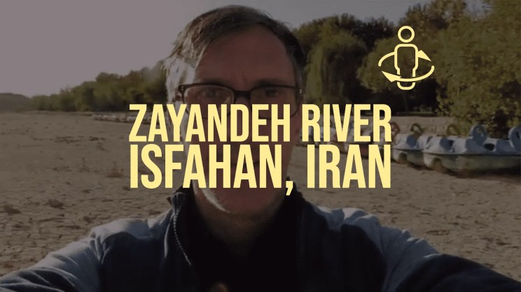 Spinning in the Dry Riverbed of the Zayayndeh River – Isfahan, Iran