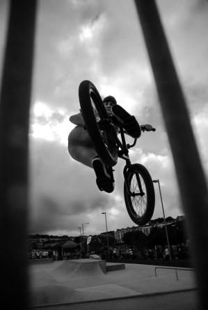 BMX jam skatepark Penzance extreme sport bike bicycle alternative