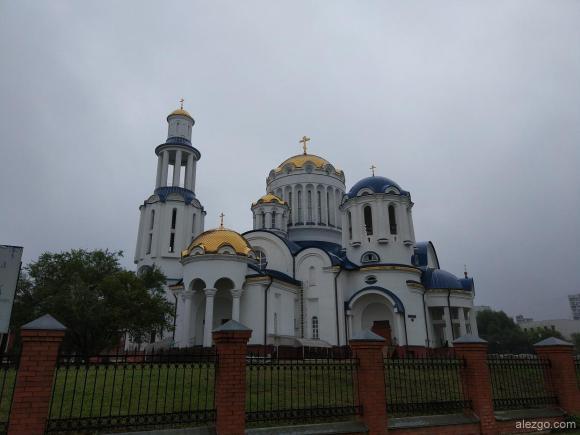 Храм Собора Московских Святых в Бибирево