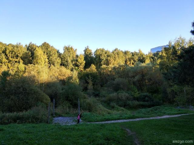 долина реки котловка