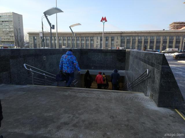метро петровский парк