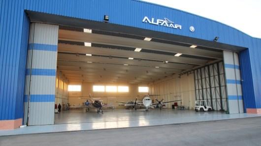 atelier à l'aéroport de Benslimane