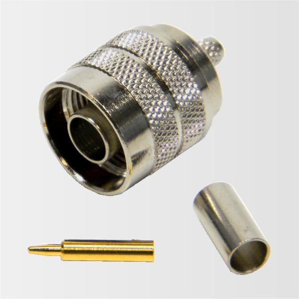 CN3201 – Conector N macho para cabos RG58