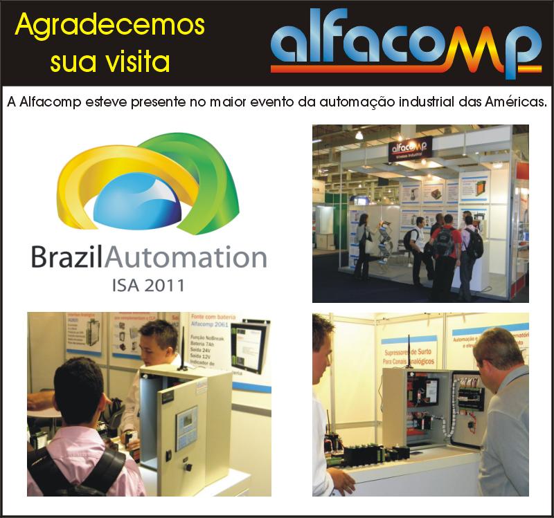 Alfacomp na Brazil Automation ISA 2011