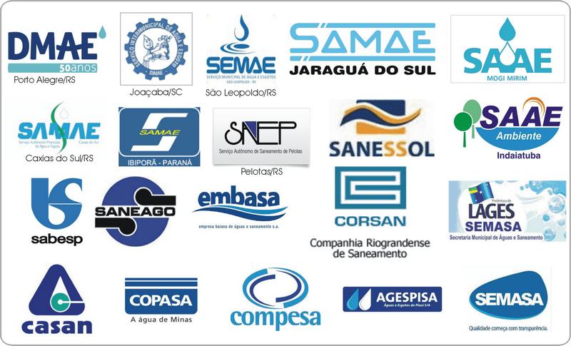 Empresas onde nosso equipamentos estão instalados