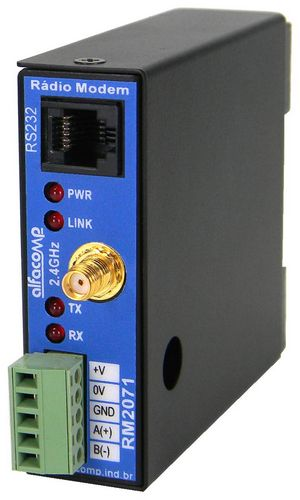 Comunicação RS232 e RS485 em chão de fábrica