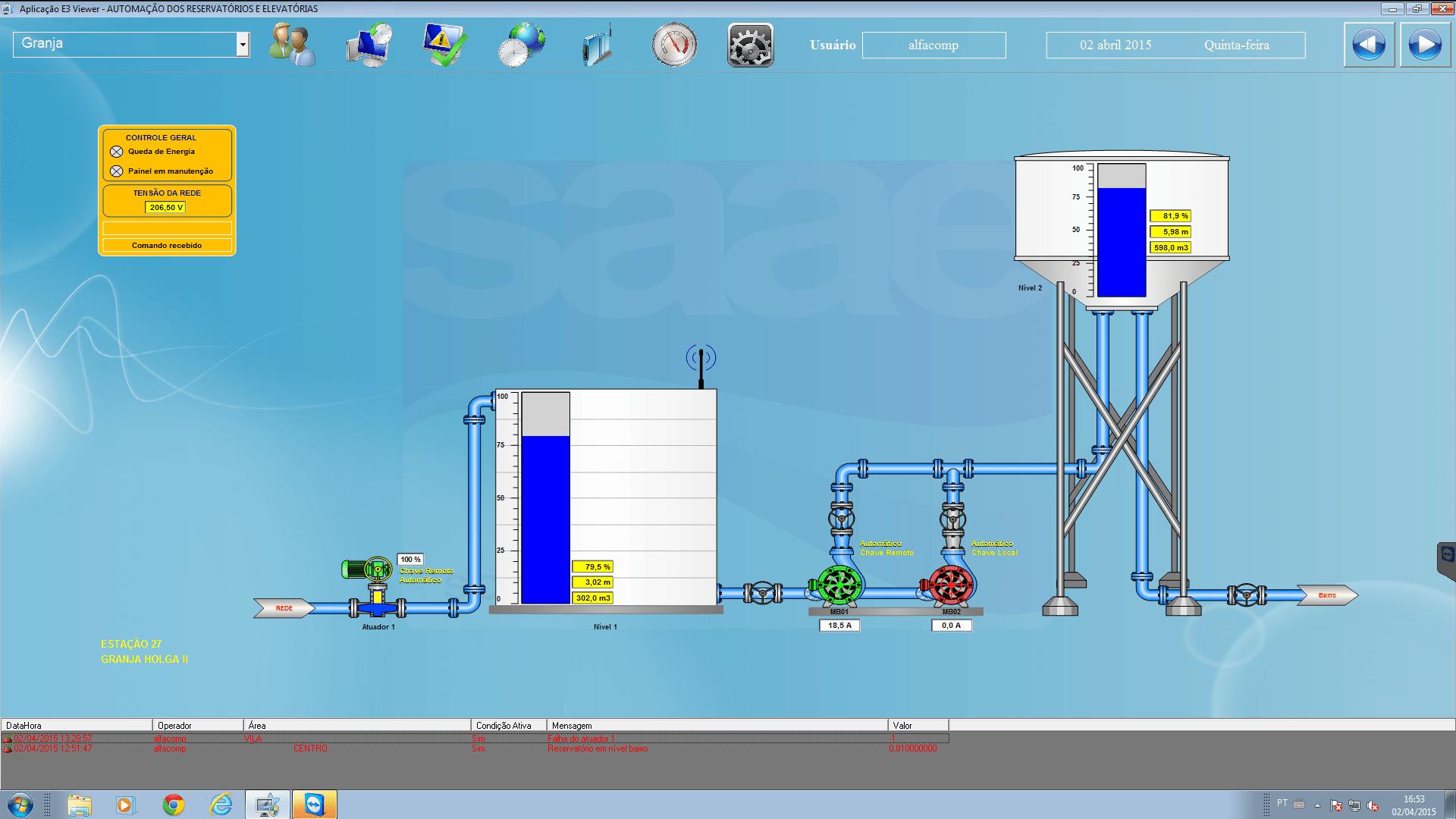 Atualização tecnológica do SAAE de Sorocaba