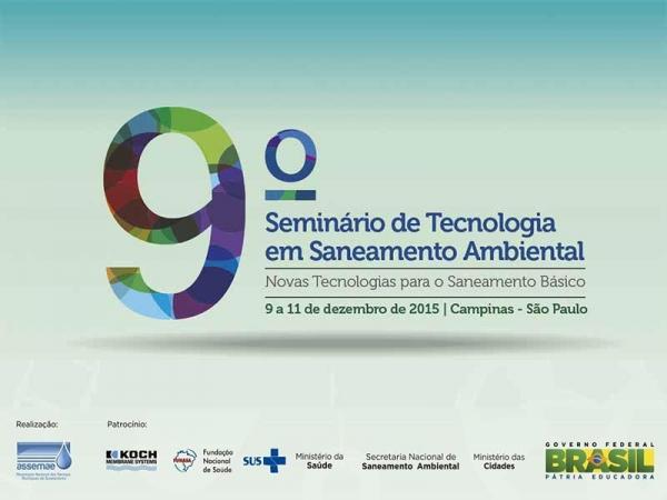 IX Seminário de Tecnologia Ambiental – Campinas  – SP