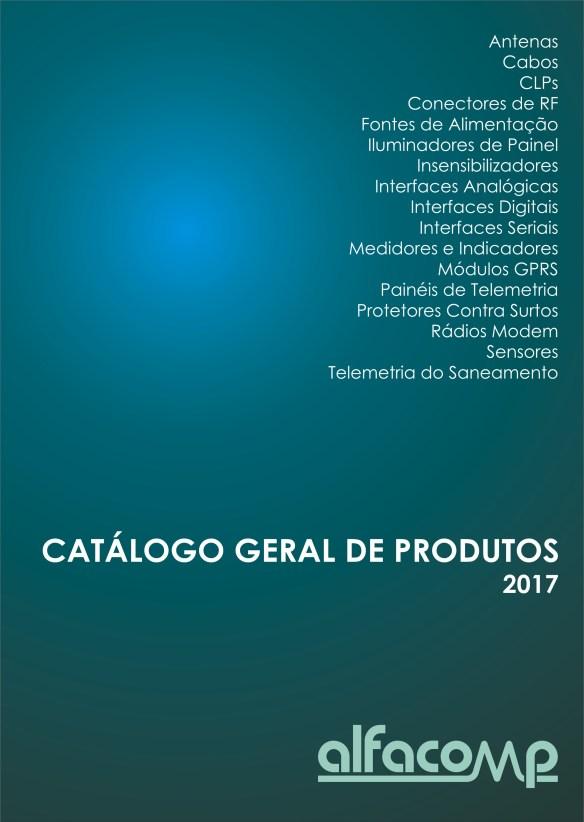 Catálogo geral de produtos Alfacomp 2017