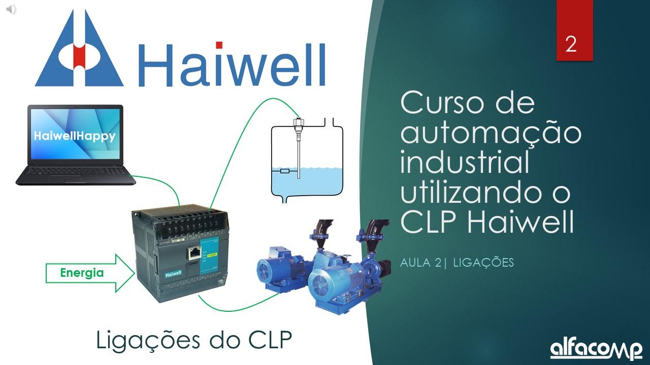 Curso de automação com CLP Haiwell