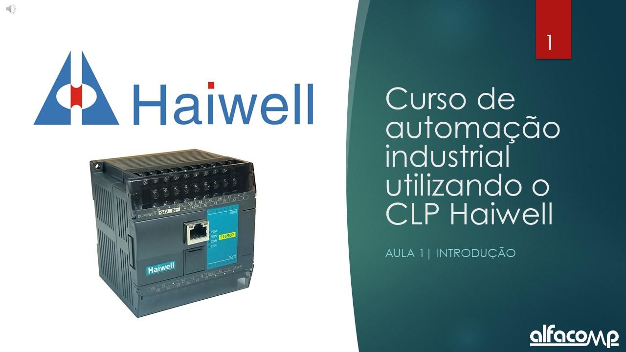 Curso de Automação com CLP Haiwell - Aula 1