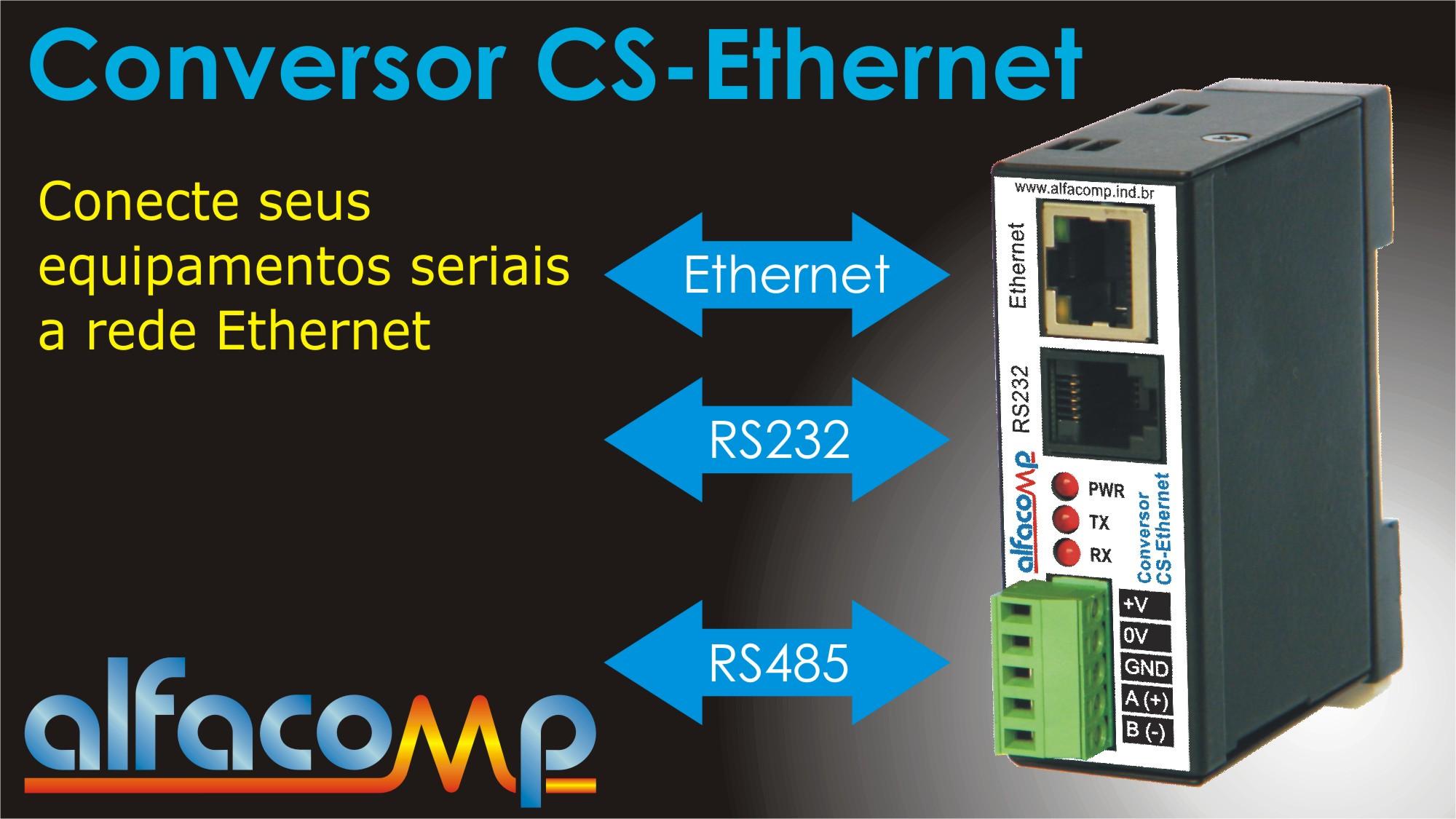 Conecte seus equipamentos seriais à rede Ethernet