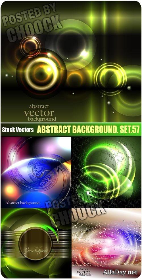 Абстрактные фоны яркие световые эффекты векторный