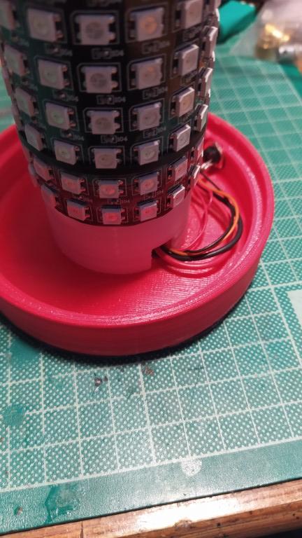 Decorative lamp connection cables