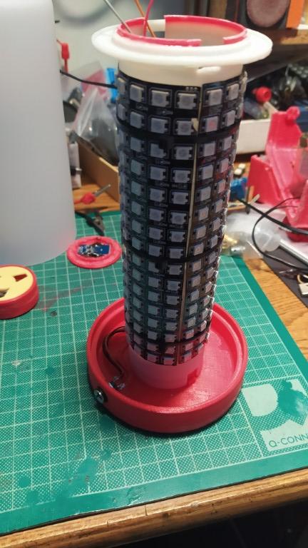 decorative lamp matrix led