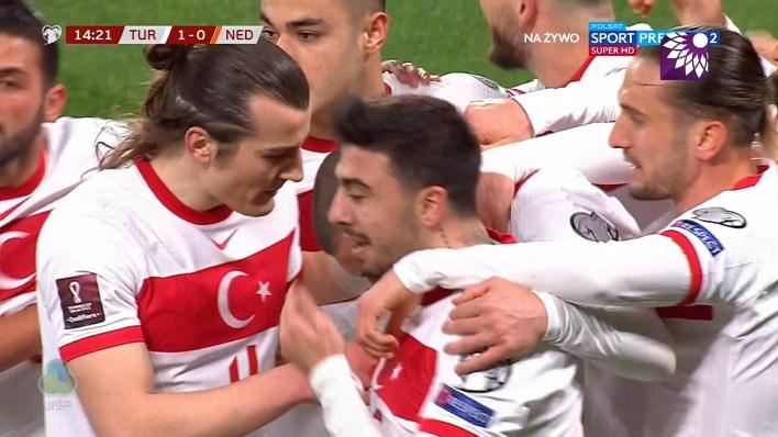 شاهد الهدف الاول ( 1-0 ) لصالح تركيا في شباك هولندا