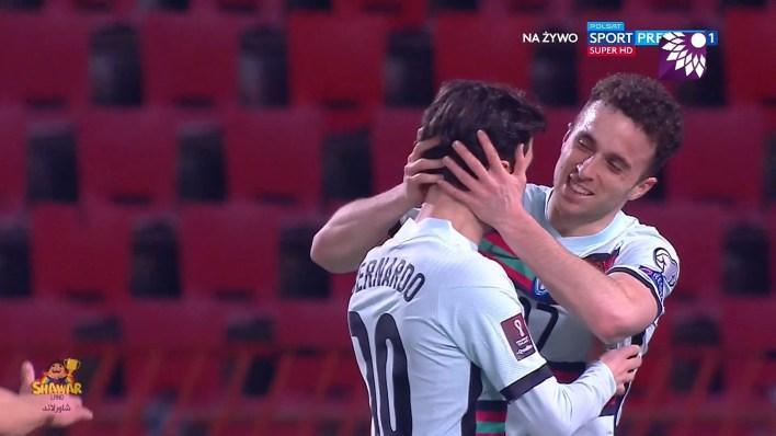 شاهد الهدف الاول ( 1-0 ) لصالح البرتغال في شباك صربيا
