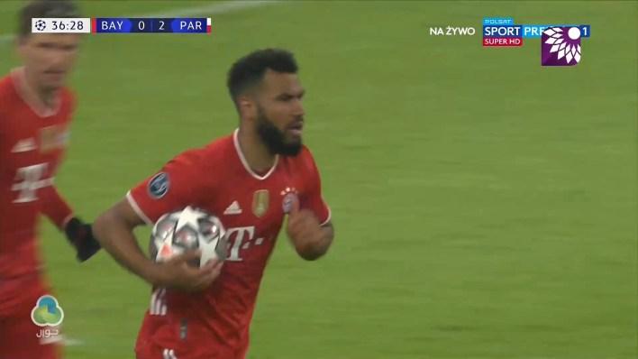 شاهد الهدف الاول (1 – 2) لصالح بايرن ميونيخ في شباك باريس سان جيرمان