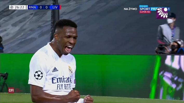 شاهد الهدف الاول ( 1-0 ) لصالح ريال مدريد في شباك ليفربول