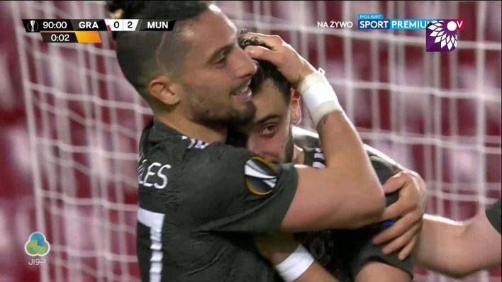 شاهد الهدف الثاني ( 2-0 ) لصالح مانشستر يونايتد في شباك غرناطة