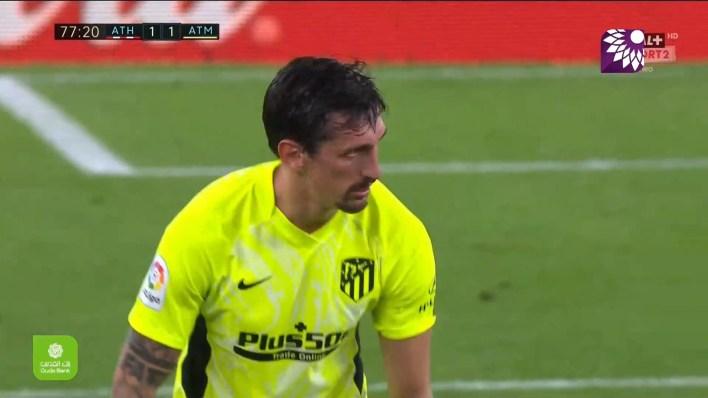شاهد هدف التعادل ( 1-1 ) لصالح اتلتيكو مدريد في شباك اتلتيك بلباو