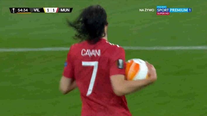 شاهد هدف التعادل ( 1-1 ) لصالح مانشستر يونايتد في شباك فياريال