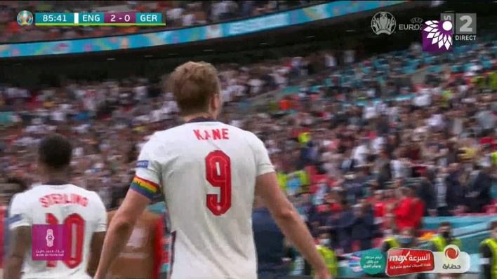 شاهد الهدف الثاني (2-0 ) لصالح انجلترا في شباك المانيا