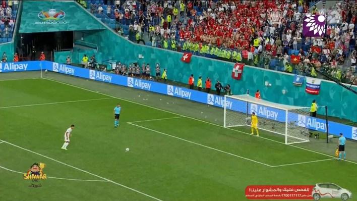 شاهد ركلات الترجيح اسبانيا ضد سويسرا