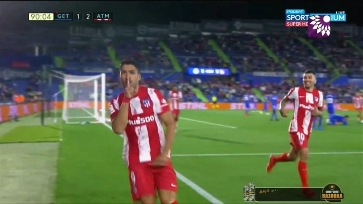 شاهد الهدف الثاني (2-1) لصالح اتلتيكو مدريد في شباك خيتافي