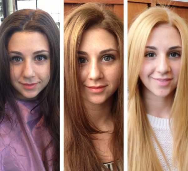 Тонировка волос до и после – Тонировка волос: фото до и ...
