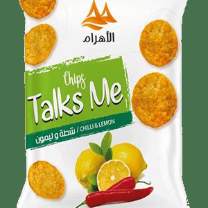 Talks Me Round Tortilla Chilli&Lemon Flavor