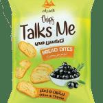 Talk Me Chips Bread Bites Olive & Thyme