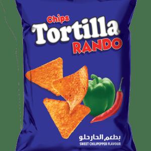 Tortilla Rando Chips Sweet&Chilli Pepper Flavor