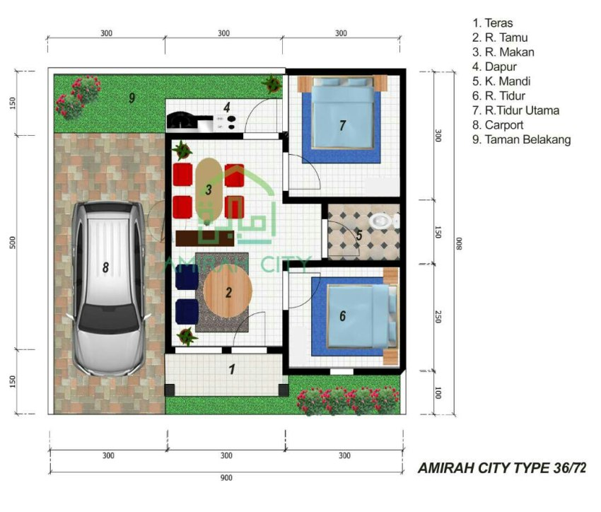 Amirah City Serang Plan Indoor1