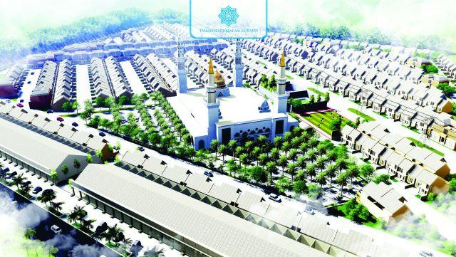 Taman Darussalam Jogja Site Plan 3D
