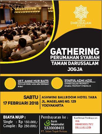 Gathering 2 Taman Darussalam Jogjakarta