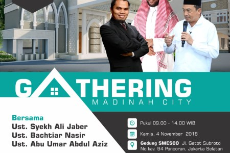 Gathering Akbar Madinah City Bekasi, 4 November 2018